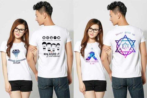 柳州廣告T恤——通過四個方面選購T恤