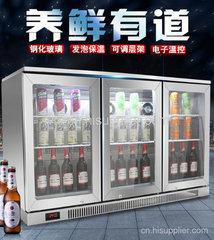 广州不锈钢吧台展示冷柜厂家哪个牌子好?