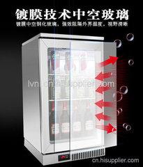 中山不锈钢吧台展示冷柜厂家哪个牌子好?