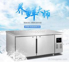 北京豪华款工作台冷柜厂家哪个牌子好?