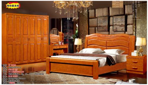 贵阳美式风格床定做厂家
