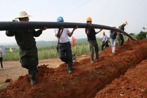 2015年大化瑶族自治县供水改造工程