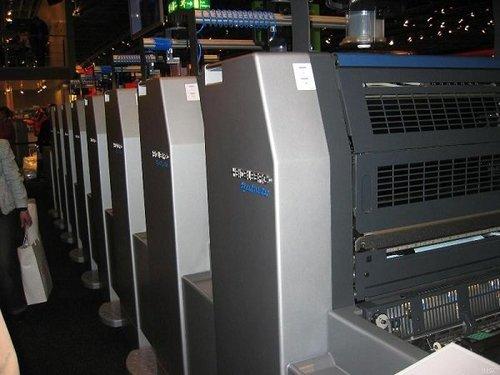 海德堡6色对开印刷机