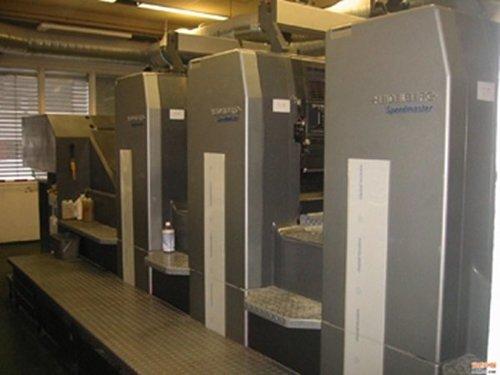 海德堡四色对开印刷机