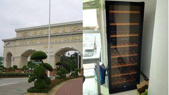 广州华南碧桂园住户客户(红酒柜)