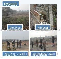 上海某化工厂染场地调查