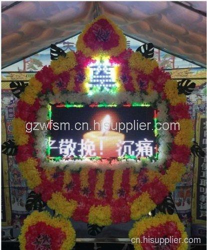 贵州电子花圈公司供应