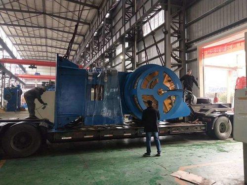 1000噸熱模鍛發車