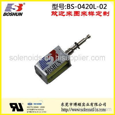 东莞电磁铁厂家定制直销长时间通电的家用电器用微型电磁铁推拉式