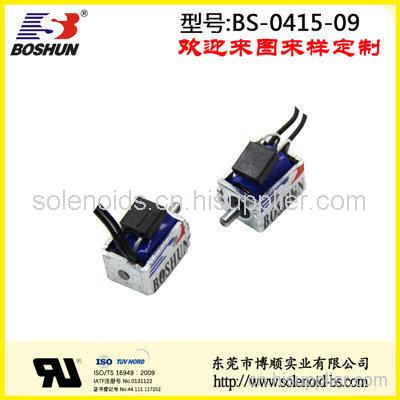 东莞电磁铁厂家供应低电压5V直流式的储物柜电磁锁推拉式