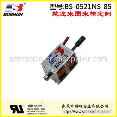 电压3.5V直流式电磁铁的小型宠物柜锁电磁铁推拉式