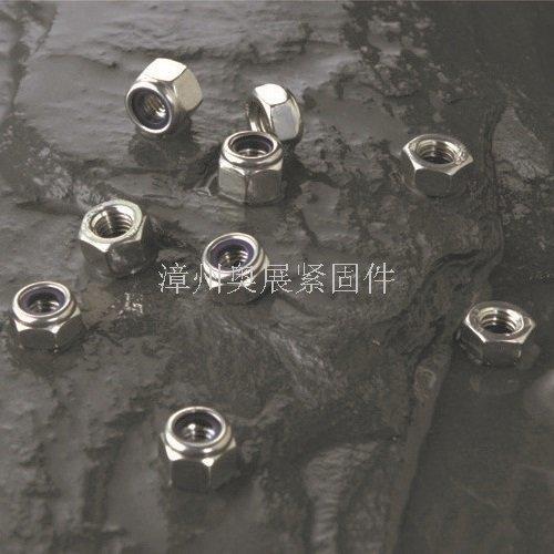 漳州304不锈钢防松尼龙螺母厂家