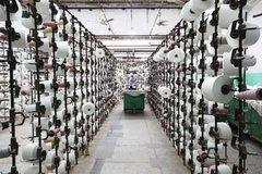 并纱机生产的产品质量高,效率也非常高