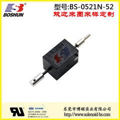 东莞电磁铁厂家直销超声波导线和直流电压12V的新能源充电桩电磁锁