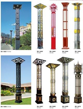 太陽能路燈的對比