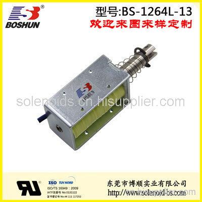 厂家供应交流电压220V的电梯起重设备电磁铁推拉式长行程20mm