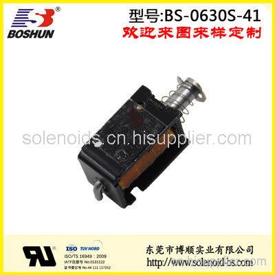 电磁铁厂家供应DC24V汽车车灯电磁铁推拉式BS0630S系列