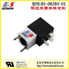 东莞博顺电磁阀厂家供应电压24V直流式的喷码打印机电磁阀
