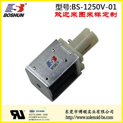 厂家供应常闭式夹管电磁阀24V直流电压的医疗设备电磁气阀