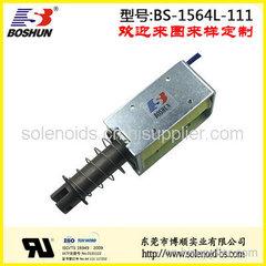 厂家供应5mm行程力量可达2.7公斤的汽车车灯电磁铁推拉式