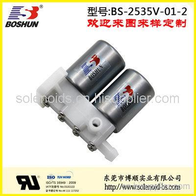 厂家供应印染设备电磁阀两位三通式24V直流电压长时间通电低功耗