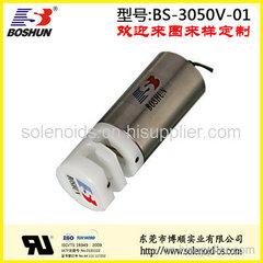 DC24V直流电磁铁、双向压管医疗器材阀、东莞博顺电磁阀