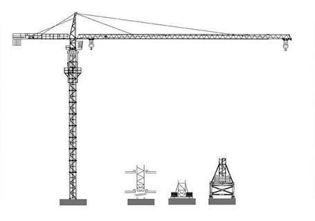 海南机械设备——塔式起重机特点