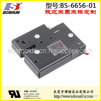 东莞电磁铁厂家定制供应直流电压24V的寄存柜电磁铁推拉式