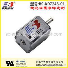 厂家供应氙气车灯电磁铁推拉式|厂家供应双向自保持式的新能源充电桩电磁锁