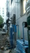 四川某高校实验室用空压机安装现场