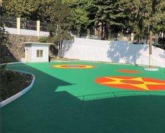 贵州幼儿园塑胶地面建设