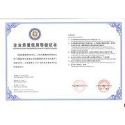 企业质量信用证书