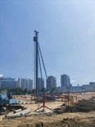 海南桩基础——螺旋钻机组成结构