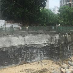 基坑支护泥浆护壁施工法