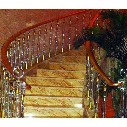 贵阳铝艺楼梯制造