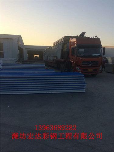 潍坊岩棉彩钢板房材料厂