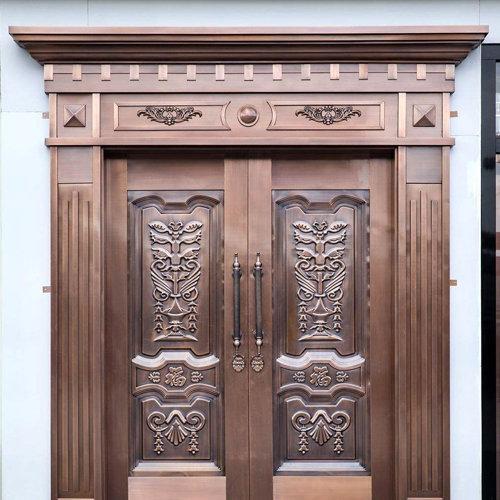 铜门的制作方法