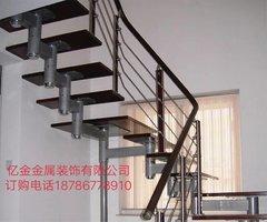 贵阳铜艺楼梯安装