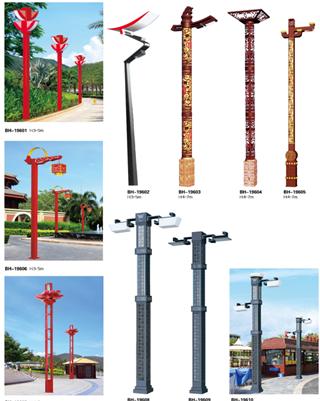 步道與庭院燈設計中應注意的問題