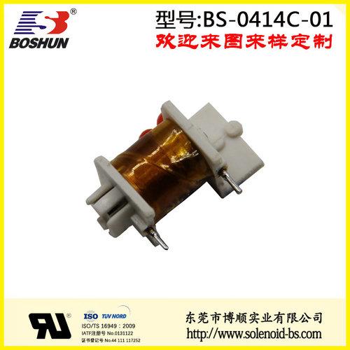 控制开关电感线圈、C型电磁铁、控制开关电磁铁