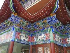 贵州古建彩绘作品
