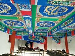 贵州古建彩绘制作工艺