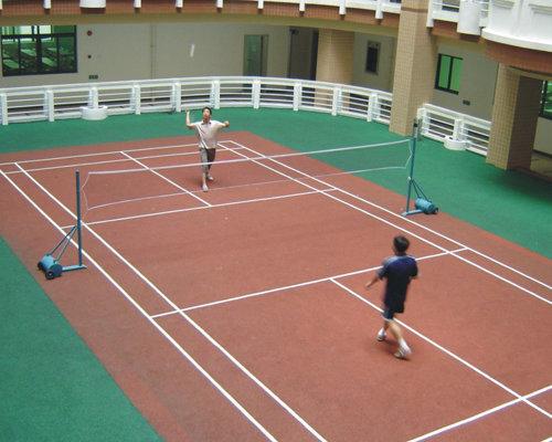 西安羽毛球场建设