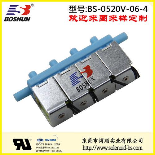 厂家供应DC12V直流式环保设备电磁气阀|厂家供应直流式四位六通电磁气阀