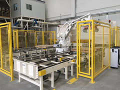 ABB機器人包裝碼垛