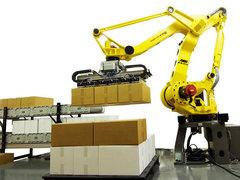 FANUC紙箱碼垛機器人