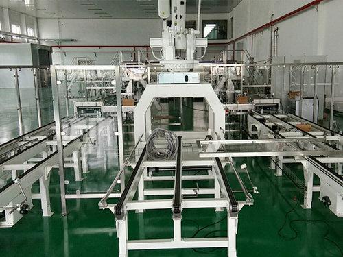 工業機器人碼垛流水線