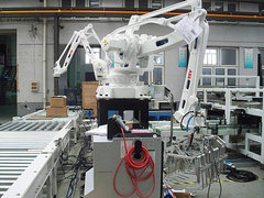 碼垛機器人流水線