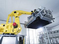 啤酒碼垛機器人