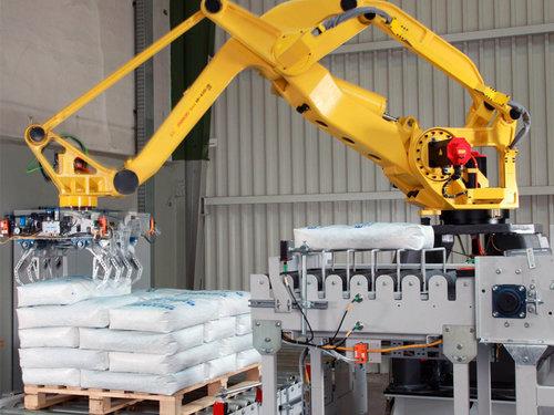 塑料粒子码垛机器人